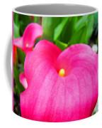 Pink Calla Lily Macro Flower Art Print Lilies Baslee Troutman Coffee Mug