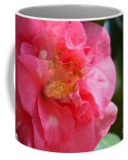 Pink Camelia Closeup Coffee Mug