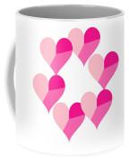 Pink Candy Hearts Coffee Mug