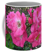 Pink Climbing Roses - Digitally Enhanced Coffee Mug