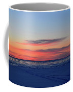 Pink Clouds Before Sunrise Two  Coffee Mug