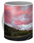 Pink Clouds Over Arizona Coffee Mug
