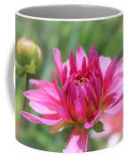 Pink Dahlia Beauty Coffee Mug