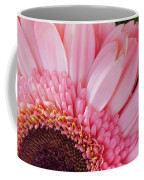 Pink Daisy Close-up Coffee Mug