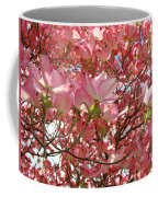 Pink Dogwood Flowering Tree Art Prints Canvas Baslee Troutman Coffee Mug