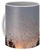 Pink Dotted Sky Coffee Mug