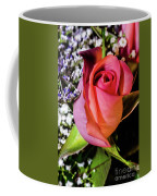 Pink Eye Rose Coffee Mug