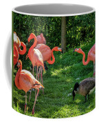 Pink Flamingos And Imposters Coffee Mug