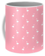 Pink Flamingos Pattern Coffee Mug