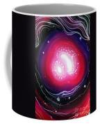 Pink Flash Of Energy. Sweet Dreams. Astral Vision Coffee Mug