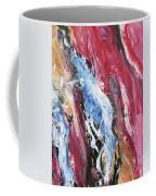 Pink Flow Abstract Coffee Mug