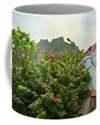Pink Flower Explosion Coffee Mug