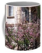Pink Flower Tree. Elegant Coffee Mug