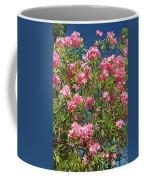 Pink Flowering Shrub Coffee Mug