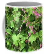 Pink Flowering Vine1 Coffee Mug