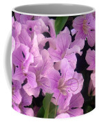Pink Flowers. 6-22-17 Coffee Mug
