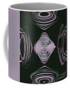 Pink Flower Scapeships Coffee Mug