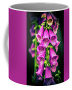 Pink Foxglove Coffee Mug