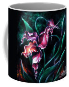 Pink Fuschia Orchid. Dance Of The Nature Coffee Mug