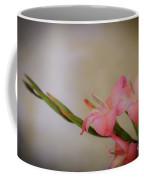 Pink Gladiola Coffee Mug