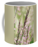 Pink Grass Coffee Mug