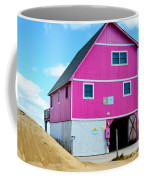 Pink House On The Beach 1 Coffee Mug
