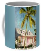 Pink House Palm Coffee Mug