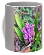 Pink Hyacinth Buds Coffee Mug