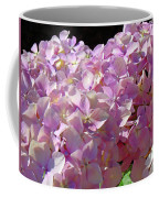 Pink Hydrangea Flower Floral Art Prints Baslee Troutman Coffee Mug