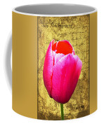 Pink Impression Tulip Coffee Mug