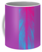 Pink Leaf Coffee Mug