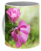 Pink Light Rose Of Sharon 2016 Coffee Mug