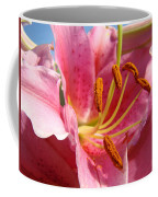Pink Lilies Art Prints Lily Flowers 3 Giclee Artwork Baslee Troutman  Coffee Mug