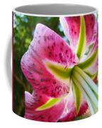 Pink Lily Summer Botanical Garden Art Prints Baslee Troutman Coffee Mug