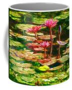 Pink Lotus Flower 2 Coffee Mug