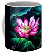 Pink Lotus From L.a. City Park Coffee Mug