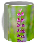 Pink Lupine Coffee Mug