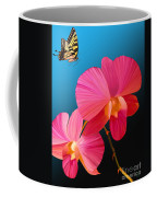 Pink Lux Butterfly Coffee Mug