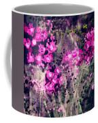Pink Majestic Garden- Art By Linda Woods Coffee Mug