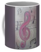 Pink Music Coffee Mug