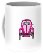 Pink On Wheels Coffee Mug