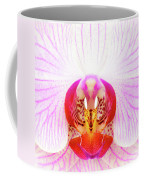 Pink Orchid Coffee Mug by Dave Bowman