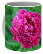 Pink Peony Coffee Mug