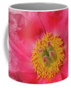 Pink Peony Flower Fine Art  Coffee Mug