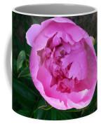 Pink Peoony In Bloom Coffee Mug