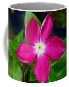 Pink Periwinkle Flower 1 Coffee Mug