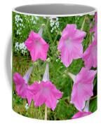 Pink Petunia Flower 9 Coffee Mug