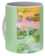 Pink Pond Coffee Mug