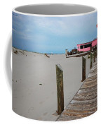 Pink Pony And Boardwalk Coffee Mug