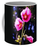 Pink Red Flower Coffee Mug